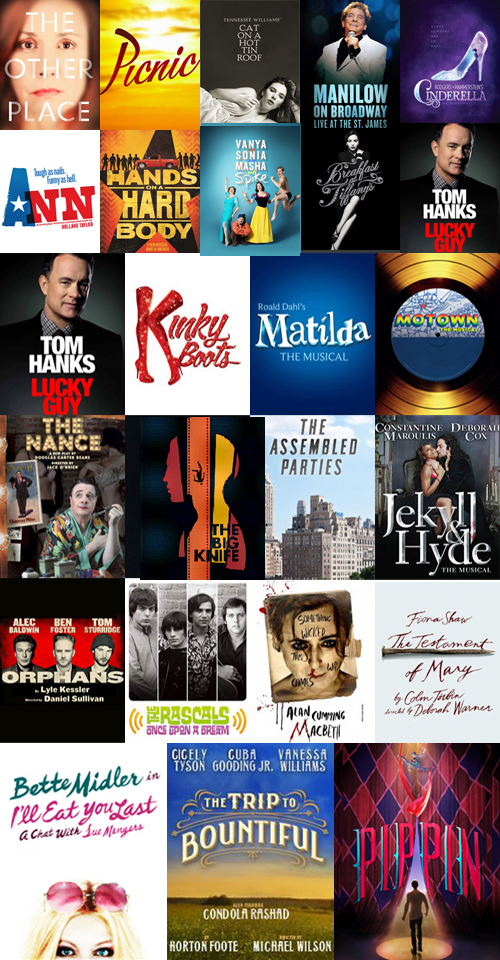 Broadway Fall Preview: Broadway Theater Guide Spring 2013