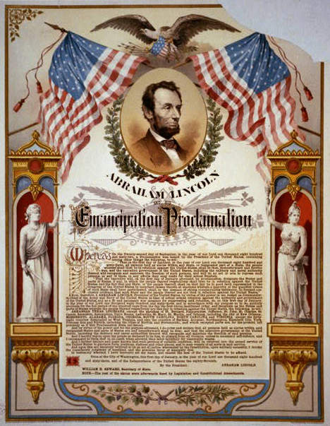 the abolition movement and the emancipation proclamation in the history of america This print depicts abraham lincoln signing the emancipation proclamation on it was the abolitionist movement that in 1863 of history at columbia.