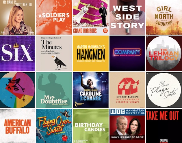 Which of the 20 Broadway shows of the Spring 2020 season do you most want to see?